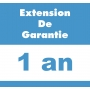 Extension de garantie + 1 an