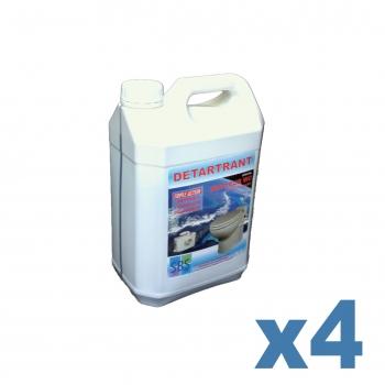 DETARTRANT SBS - 4 bidons de 5 litres